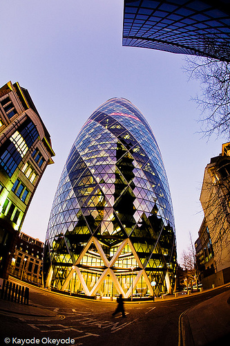 30 St Mary Axe A Sustainable Skyscraper
